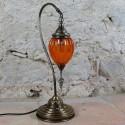 Lampe déco Astana orange