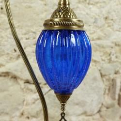 Lampe d'ambiance Astana bleue