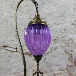 Lampe décorative violette Astana