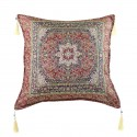 Coussin oriental Lycia rouge