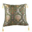 Coussin oriental vert Cilicia