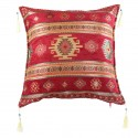 Coussin oriental Bythinia rouge