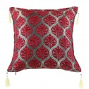 Coussin oriental rouge Mysia