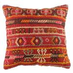 Coussin ethnique vintage pour décoration bohème