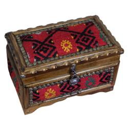 Décoration artisanale avec le coffret à bijoux en bois Gamios par KaravaneSerail