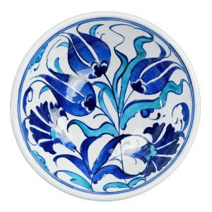 Décoration turque, bol fleuri Necla par KaravaneSerail