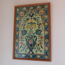 Tableau marocain en faïence par KaravaneSerail