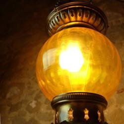 Décoration bohème ethnique et lanterne orientale jaune Kirisha par KaravaneSerail