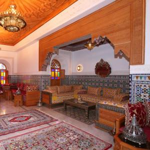 Salon marocain traditionnel - KaravaneSerail