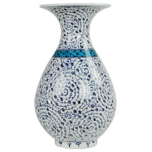 Vase exotique ne céramique Hava par KaravaneSerail