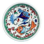 Cadeau artisanal : bol en faïence turque ottomane par KaravaneSerail