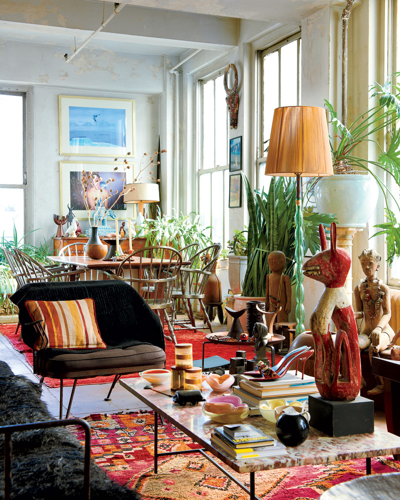 Eclectic Furnishings: Décoration Bohème Chic