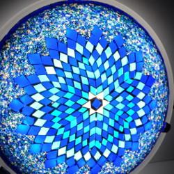 Plafonnier oriental en mosaïque turque Eshtan par KaravaneSerail
