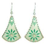 Idée cadeau artisanal pour femme : boucles d'oreilles en cuivre par KaravaneSerail