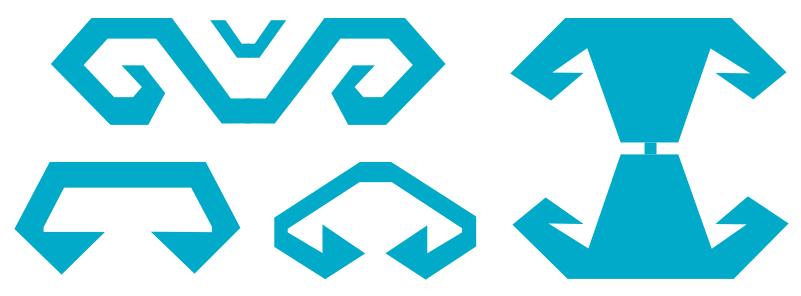 Motifs et symboles de Kilim - Cornes de bélier