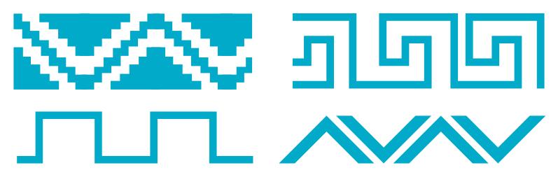 Kilim, symboles et motifs - Cours d'eau