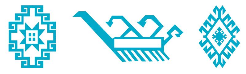 Motifs et symboles des kilims - Dragon