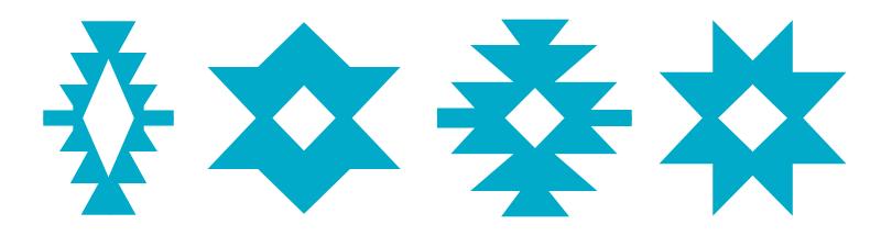 Symboles et motifs des kilims - Etoile