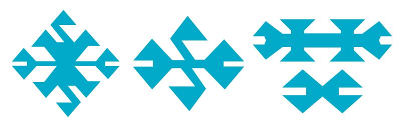 Motifs et symboles des kilims - Gueule de loup