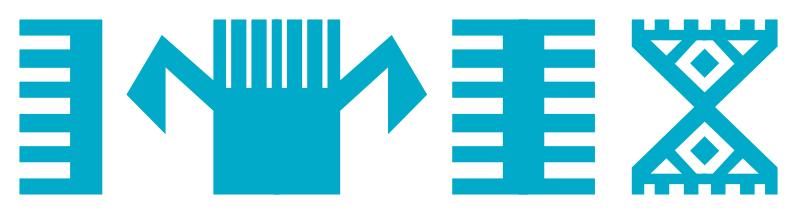 Symboles des motifs de kilim - Peigne et main