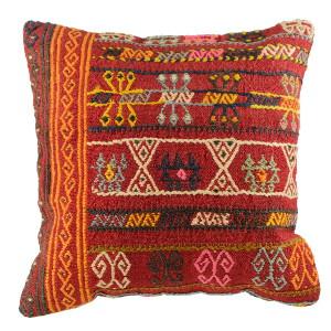 Décoration turque avec le coussin kilim ethnique par KaravaneSerail