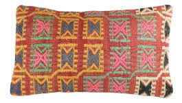 Idée cadeau artisanal : coussin en kilim Lumbar par KaravaneSerail