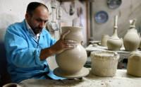 Fabrication céramique ottomane 02 Moulage