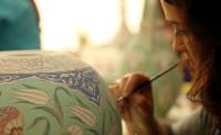 Fabrication Céramique Ottomane 08 Peinture