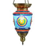 Cadeau artisanal oriental : luminaire en mosaïque Tiamat par KaravaneSerail