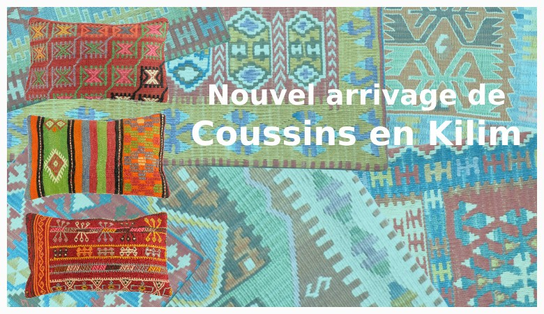Coussins en kilim - Nouvel arrivage