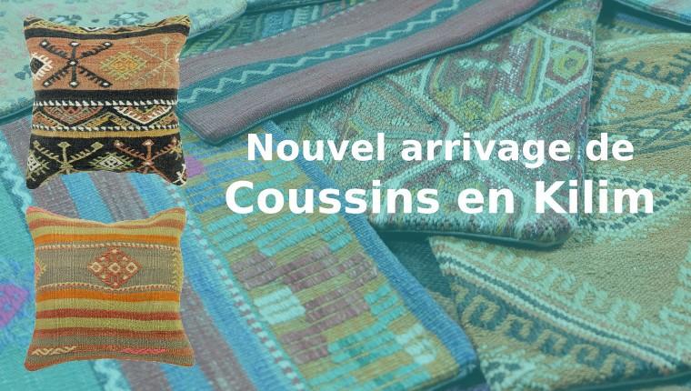 Décoration orientale - coussin kilim vintage par KaravaneSerail