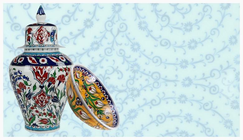 Décoration Orientale - Céramiques Ottomanes d'Iznik