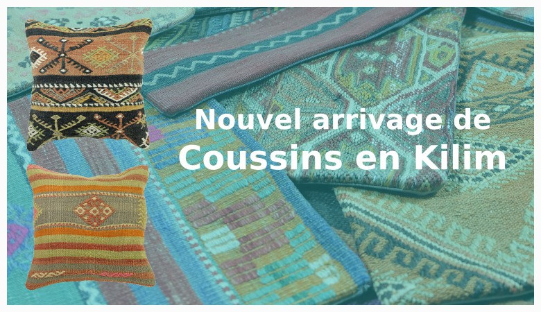 Décoration orientale - coussin kilim par KaravaneSerail